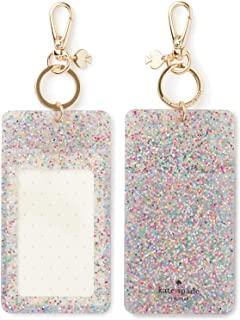 Kate Spade New York Id Badge Clip Key Chain, Multi Glitter
