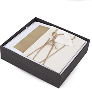 Hallmark Signature Blank Cards (Heart & Twine, 8 Note Cards with Envelopes)
