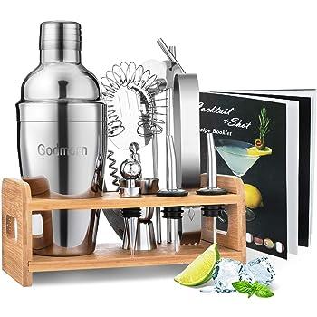 Cocktailshaker Set 5 Teilig Cocktails Bar Getränke Party Feier Mojito Martini