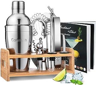 Cocktail Set, Godmorn Edelstahl Cocktail Shaker Set, 15 Teil