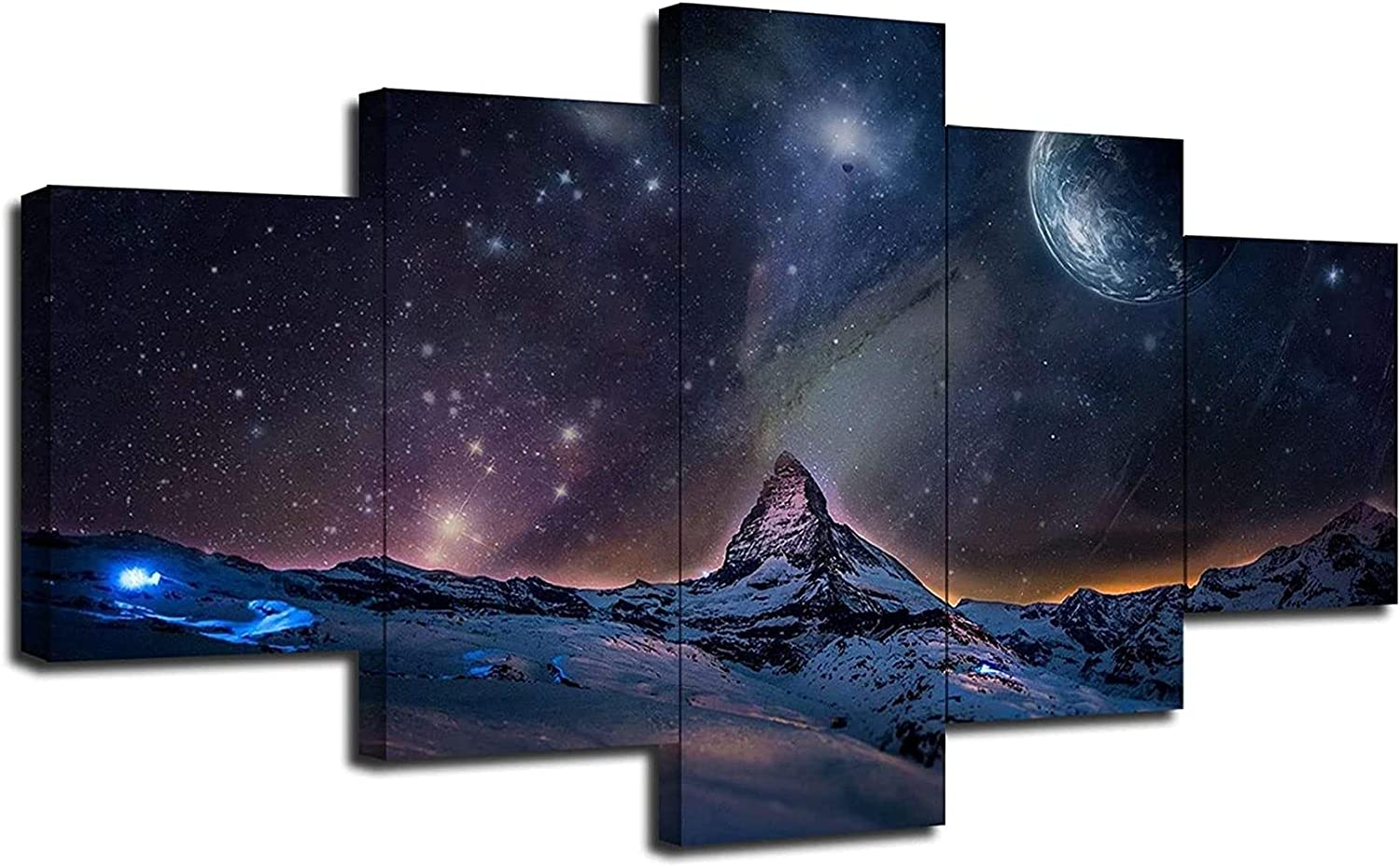 Unframed Cheap super special price Limited price sale 5 Pieces Posters Painting for Living Room Decorations B