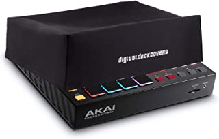 Akai Professional MPC One Dust Cover Protector [Water Resistant, Antistatic, Black Premium Fabric] by DigitalDeckCovers