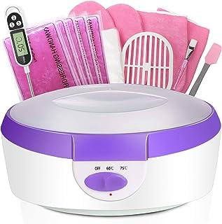 Paraffin Wax Machine for Hand and Feet – Ejiubas Paraffin Bath Quick Heating 2500ml..