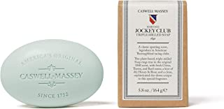 Caswell-Massey Triple Milled Jockey Club Luxury Bath Soap Single Bar Soap, 5.8 Oz