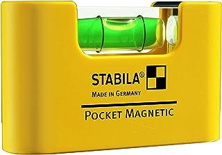 Stabila 17774 Nivel de Burbuja Magnético de Bolsillo