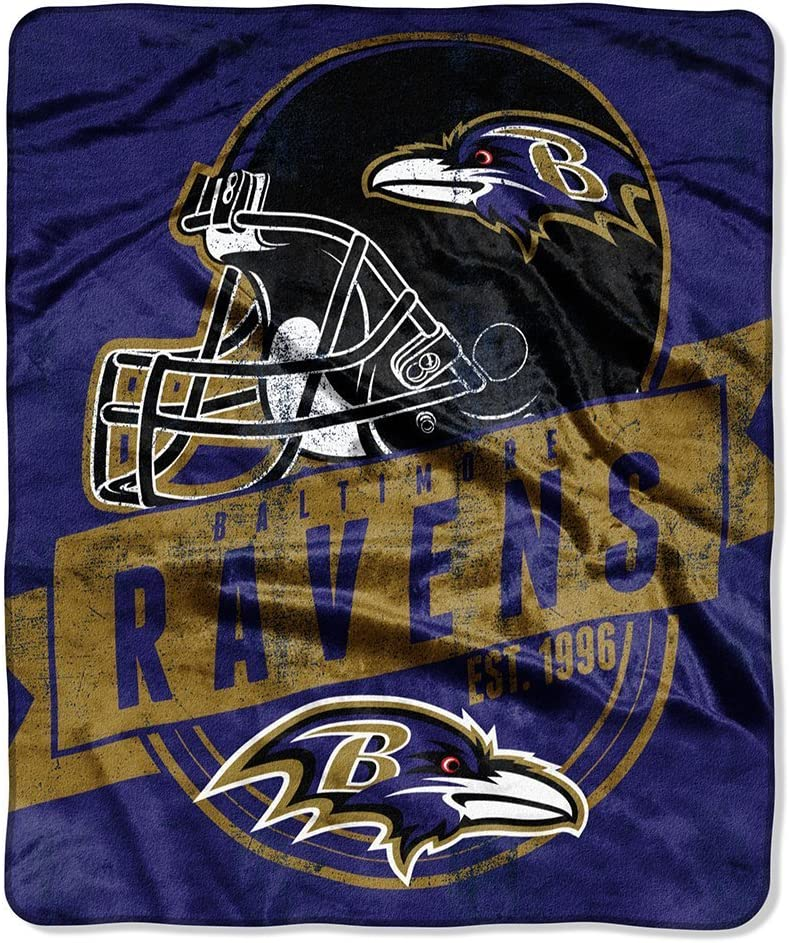 The Northwest Company Ravens Football Grand Pl Ranking TOP1 Stand 50x60 Recommended Royal