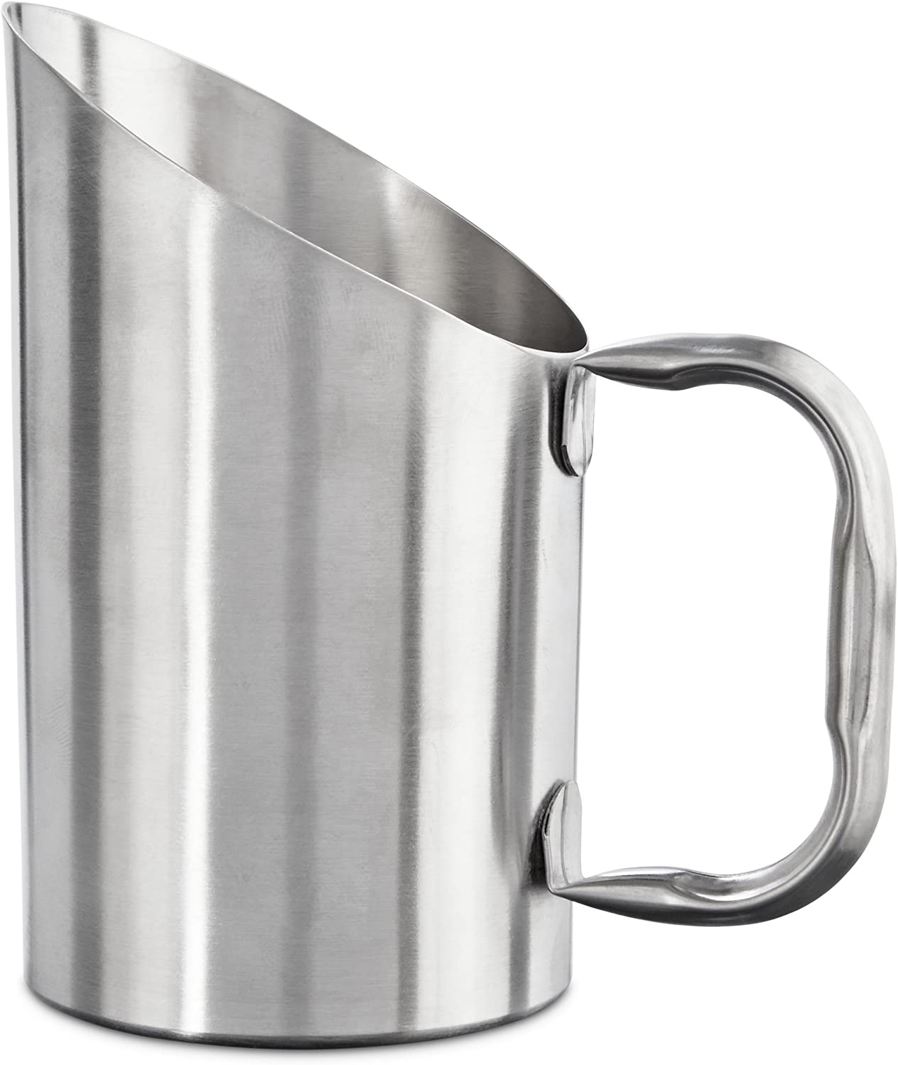 Bowlmates Stainless Steel Dog Food Scoop, 1 Cup, Small, Silver
