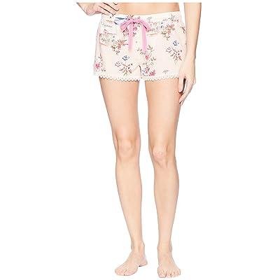 P.J. Salvage Playful Prints Vaca Shorts (Pink) Women