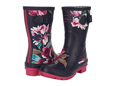 Joules Molly Welly (Navy All Over Floral 2) Women