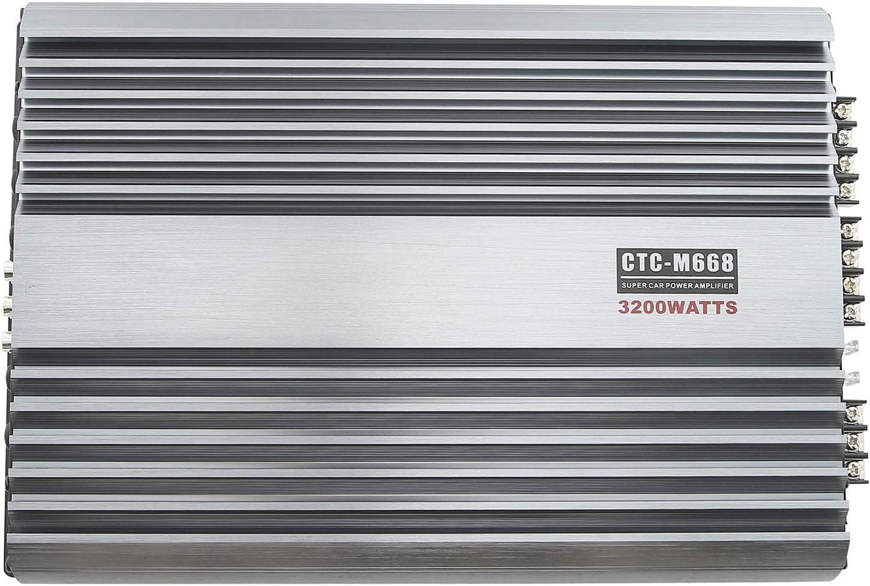 3200W 12V Car Amplifier Stereo Power Amp 4CH Bass