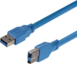 StarTech.com 10 ft / 3m SuperSpeed USB 3.0 Cable A to B - USB 3 A (m) to USB 3 B (m) (USB3SAB10)