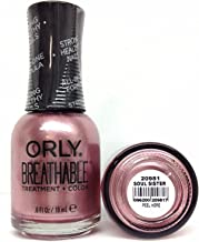 Orly Breathable Treatment & Nail Polish, Nudes Soul Sister, 0.6 Fluid Ounce