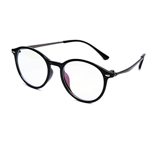 5882ad4727 TheWhoop Black Round Spectacle Frame Eye Glasses For Men Women Boys Girls