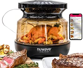 NUWAVE PRIMO Grill Oven with Integrated Digital Temp Probe for PERFECT Results, Convection Top & Grill Bottom for Surround...