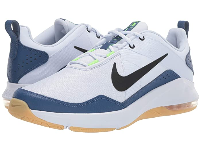 Mens Retro Shoes | Vintage Shoes & Boots Nike Air Max Alpha Trainer 2 Football GreyBlackMystic Navy Mens Cross Training Shoes $63.75 AT vintagedancer.com