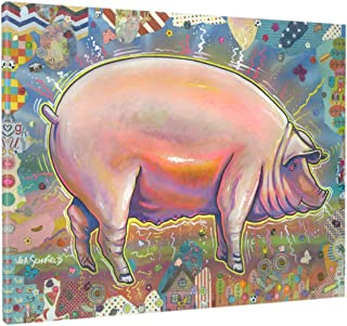Easy Planet The Pig Canvas Wall Art