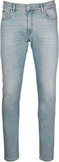 REPRESENT Luxury Fashion Mens M07026PALE Light Blue Jeans | Spring Summer 20
