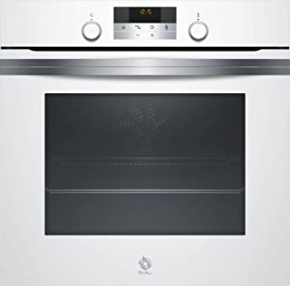 Balay Horno 3HB5358B0 MULTIFUNCION-AQUALISIS A, 71 litros, Acero inoxidable, Blanco