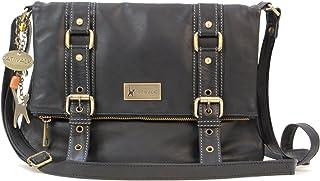 Catwalk Collection Handbags - Cuir Véritable - Sac à Main/Sac Bandoulière/Sac Besace/Sac Porté Croisé - Femme - ABBEY