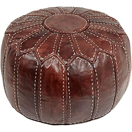 Pouf leather pouffe cuir,Hand Made Boho Moroccan Pouf Tan Leather ottoman footstool Poof Poufs Pouffe Pouffes Leather Natural Pouffe