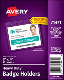 Best avery name badge holders Reviews