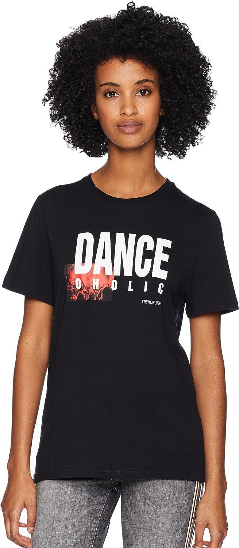 NEIL BARRETT Womens DanceOholic TShirt