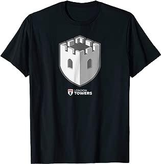 PCL London Towers Logo PRO Chess League Team T-Shirt