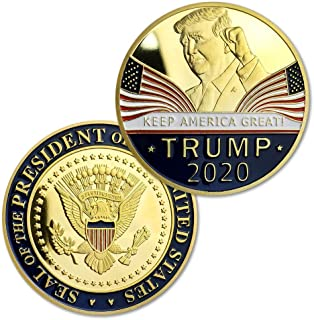 blinkee 2020 Donald Trump Keep America Great Eagle Coins