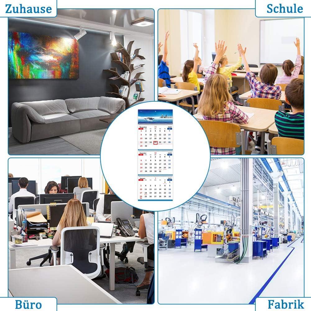 Calendrier Aubade 2022 Gratuit Calendrier mensuel sur 3 mois Pour Home School Office Style 1