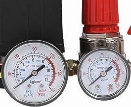 Regulador da válvula de controle do interruptor de pressão do compressor de ar pequeno de alta precisão com medidores