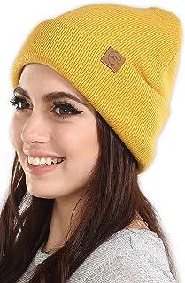 قبعات شتوية Beanie Knit للرجال والنساء - قبعة توبغان دافئة وقابلة للتمدد وناعمة يومية مضلعة