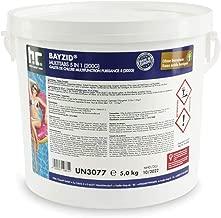 1 x 5 kg Chlore Multifonction en galets de 200g - FRAIS DE PORT OFFERT - en seau de 5 kg