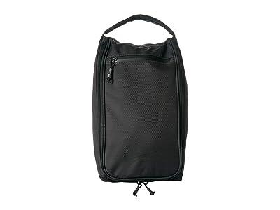 Nike Depature Golf Shoe Tote (Black/Black/Black) Bags