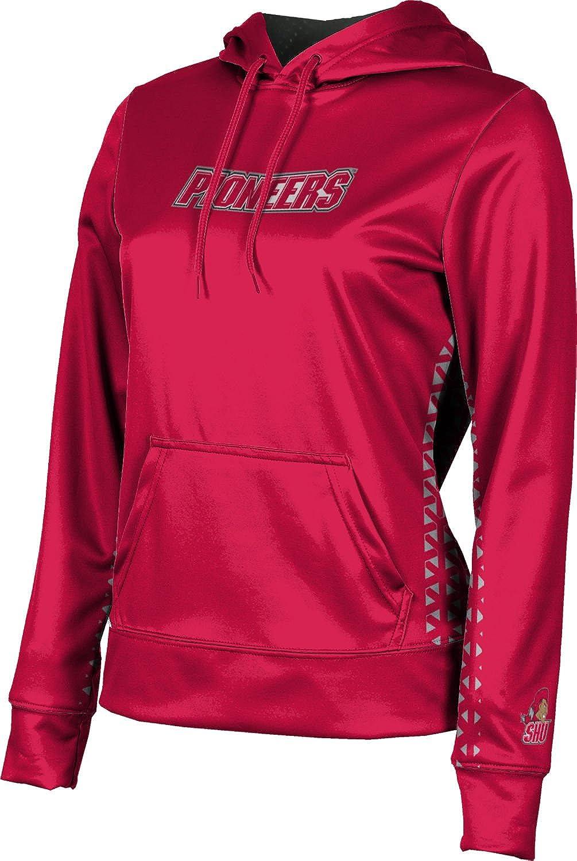 ProSphere Sacred Heart University Girls' Pullover Hoodie, School Spirit Sweatshirt (Geo)