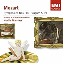Mozart: Symphony Nos. 38 (Prague) & 39