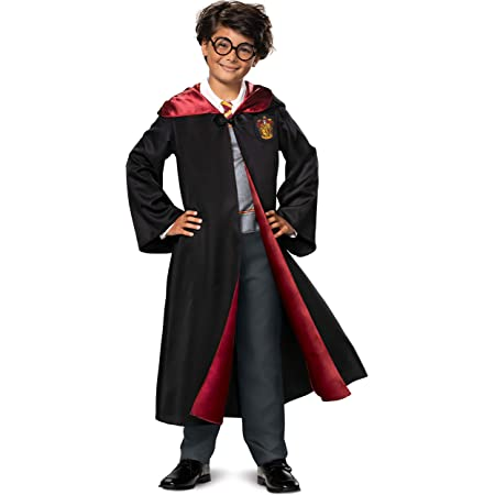 Boys Girls Harry Potter Robes Fancy Dress Up Costume