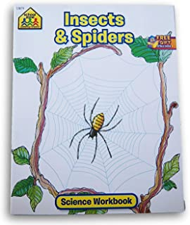 School Zone Science Workbook - Insects & Spiders