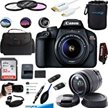 $289 » Canon EOS Rebel T100 Digital SLR Camera with 18-55mm Lens Kit + Essential Accessories Bundle