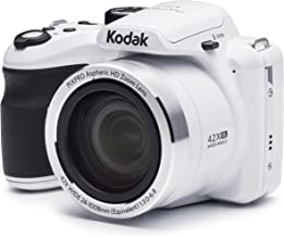 KODAK PIXPRO Astro Zoom AZ421-WH 16MP Digital Camera with...