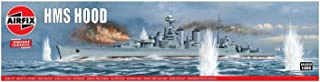 Airfix HMS Hood 1:600 Vintage Classics Military Naval Ship Plastic Model Kit A04202V