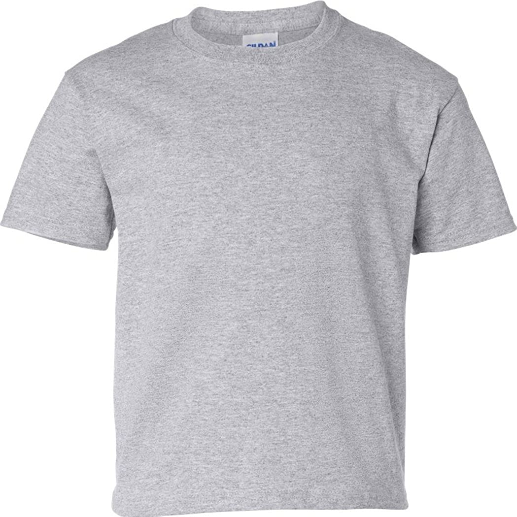 Ultra Cotton Tall Tee Shirt, Color: Sport Grey, Size: XX-Large Tall