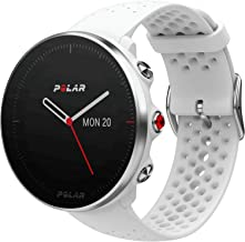 Polar Vantage M, Advanced Running & Multisport Watch w/GPS & Wrist-Based Heart Rate - White M/L
