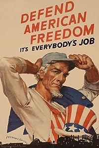 Defend American Freedom Its Everybodys Job WPA War Propaganda Cool Wall Decor Art Print Poster 13x19