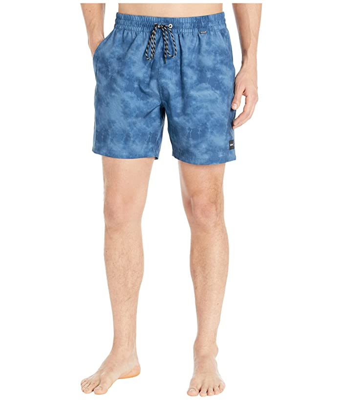 Hurley  17 Paradise Volley Boardshorts (Mystic Navy) Mens Swimwear