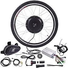 "JAXPETY 36V 500W Electric Bicycle Cycle 26"" E Bike Front Wheel Ebike Hub Motor Conversion Kit Hub Motor Wheel"
