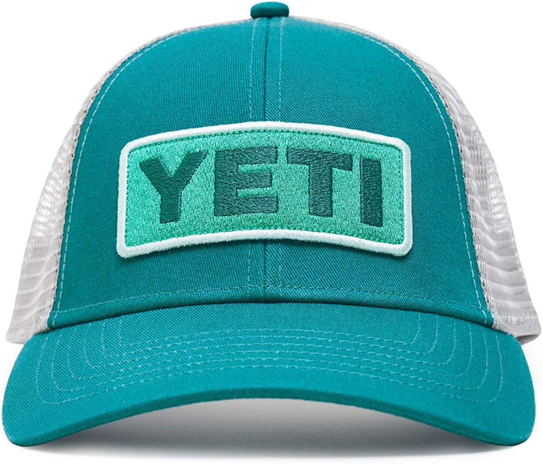YETI Logo Badge Low-Profile Trucker Hat with Bureo Brim