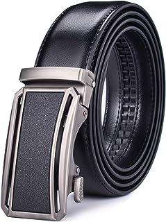 أحزمة رجالية جلدية رجالية شريط ربط بسقاطة عمل مع إبزيم قابل للتبديل Beltox