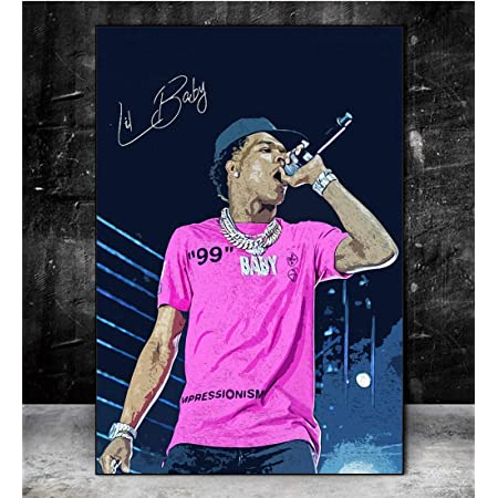 "Lil Baby My Turn Deluxe Cover Poster Album New Art Print 20×20/"" 24×24/"" 32×32/"""