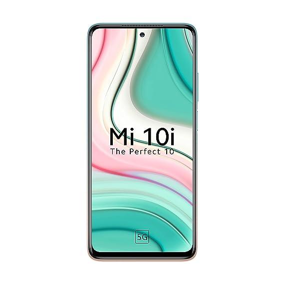 Mi 10i 5G (Pacific Sunrise, 6GB RAM, 128GB Storage)- 108MP Quad Camera   Snapdragon 750G Processor   Upto 3000 Additional Exchange