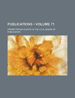 Publications (Volume 71)